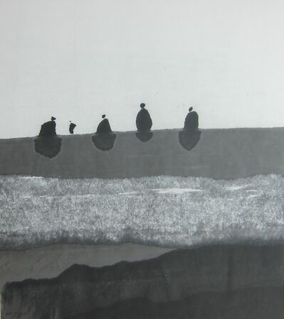 Gao Xingjian 高行健, 'L'Errance 浮游', 2010