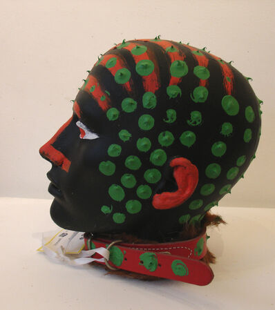 David Bailey, 'Head with Dog Collar', 1999