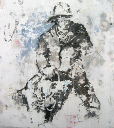 Nicole Charbonnet, 'Cowboy with Lasso'