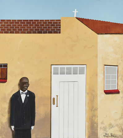 Sam Nhlengethwa, 'Waiting for the Bride', 2018