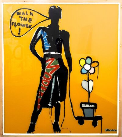 Julian Hoffmann, 'Walk the Flower', 2017