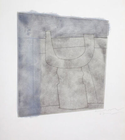 Ben Nicholson, 'Turkish Form (Variation on a Theme, Solitary Sundial II)', 1967