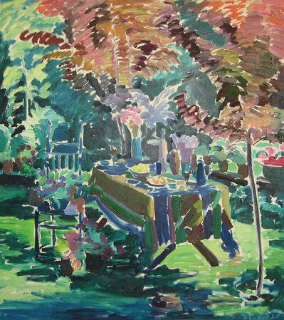 Joseph O'Sickey, 'Dark Garden with Plum Tree'