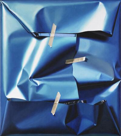 Yrjo Edelmann, 'A packed view over harmonic blue fields ', 2011