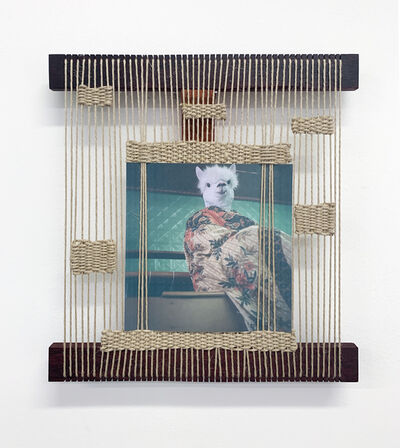 Cynthia Alberto | Weaving Llama (2019) | Available for Sale