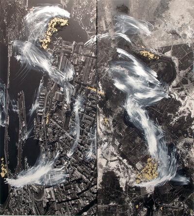Alberto Borea, 'Borders and Highways (Atenas – Trípoli – Sicilia –  Gambia – Senegal – Tijuana)', 2018