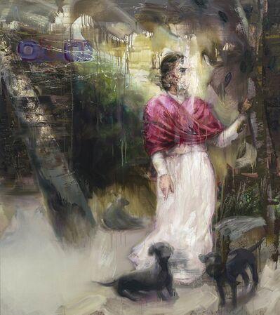 Mathieu Laca, 'Frida in Garden', 2018