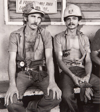 """Milton Rogovin, ' Untitled, from the series, """"Family of Miners: Cuba""""', 1989"""