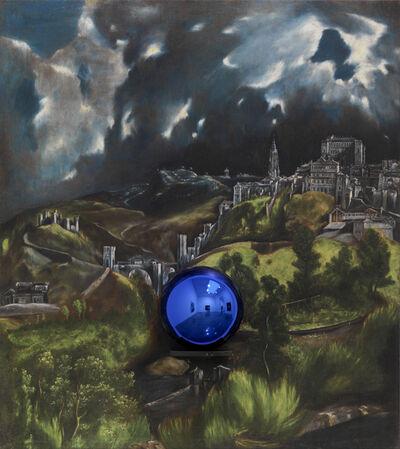 Jeff Koons, 'Gazing Ball (El Greco View of Toledo)', 2015