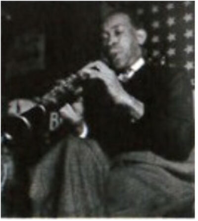 Lisette Model, 'Georges Lewis in the Bunk Johnson Band', 1945-1946