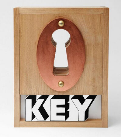 Joe Tilson, 'Key box', 2003