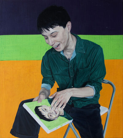 Tristan Pigott, 'Selfie as Lina Moy', 2015