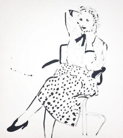 David Hockney, 'Celia in a Polka Dot Skirt', 1980
