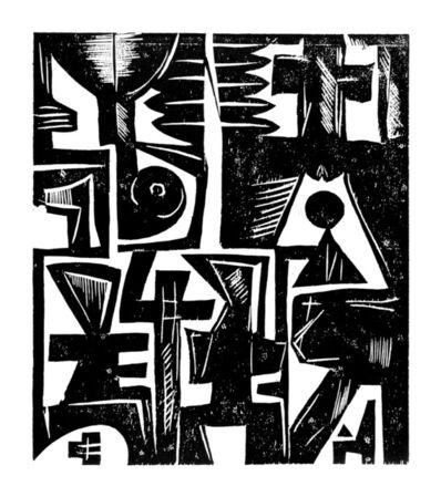 EL Loko, 'TAFEL 6', 1983
