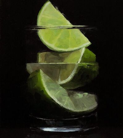 Tom Giesler, 'Floral 47: lime on lime', 2021