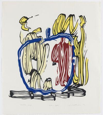 Roy Lichtenstein, 'Vertical Apple unique exhibition proof', 1982