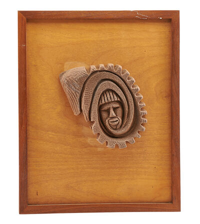 Lonnie Holley, 'Untitled (Mounted Face)'
