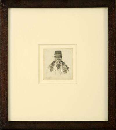 Edward Hopper, 'Man with Goatee', ca. 1900
