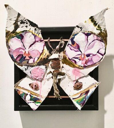 James Gortner, 'Butterfly (White)', 2018
