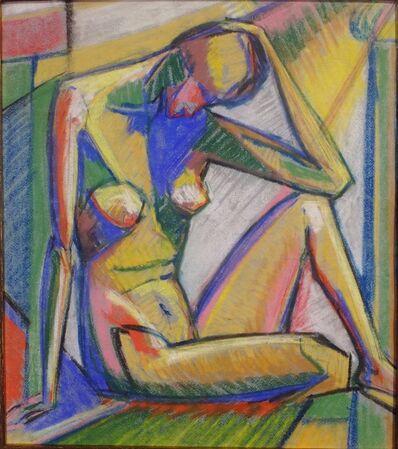Rolph Scarlett, 'Deco Woman', ca. 1930