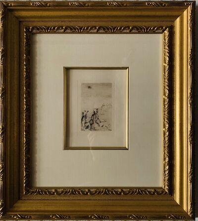 Pierre-Auguste Renoir, 'Sur La Plage, A Berneval (2nd Plate of 3) Catalogues: Delteil 5, Stella 5', ca. 1892