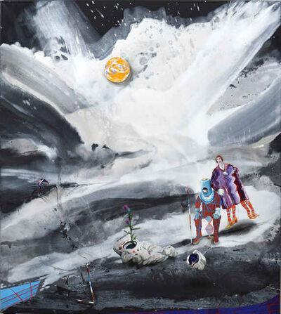 Michael Sistig, 'Cloud Chamber 4 - Astronauts', 2018