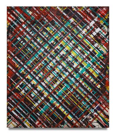 Ed Moses, 'Revrse Grid', 2014-2017