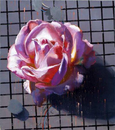 Rayk Goetze, 'Rose (Raster)', 20201