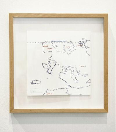 Juan José Martín Andrés, 'Tribute to Joaquín Torres García.Our north is the south.', 2014