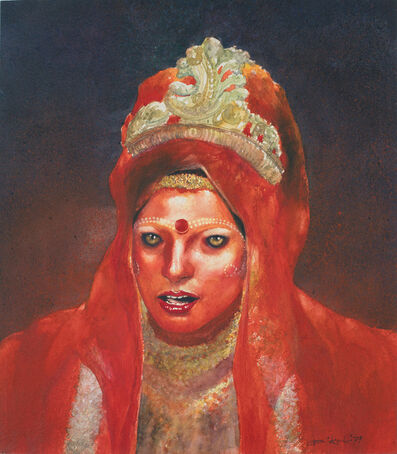 Bikash Bhattacharjee, 'Untitled (Bride)', 1979