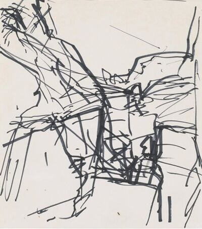 Frank Auerbach, 'Study for To the Studios', 1990-1991