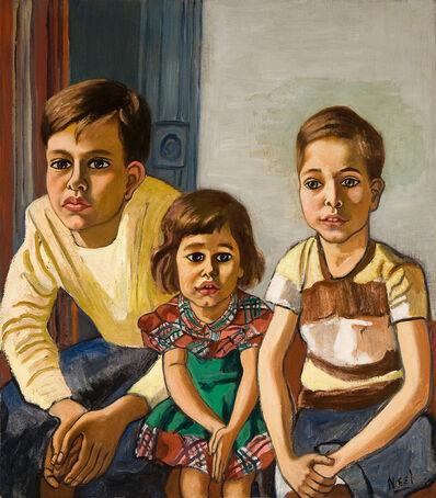 Alice Neel, 'Robert, Helen and Ed', ca. 1952