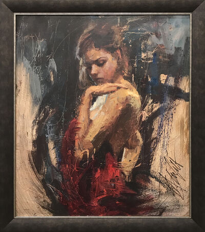 Henry Asencio, 'Adoration - Framed'