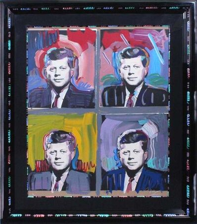 Peter Max, 'JFK - Four Portraits', 1989