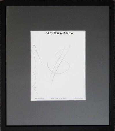 Andy Warhol, 'Dollar', Unknown