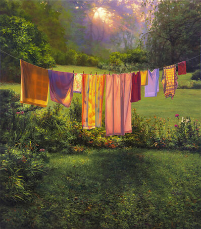 Scott Prior, 'Laundry at Sunrise', 2019