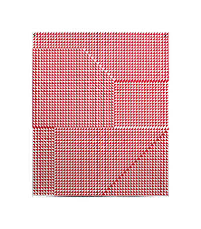 Giulia Ricci, 'ALTERATION/DEVIATION, Red #1', 2019