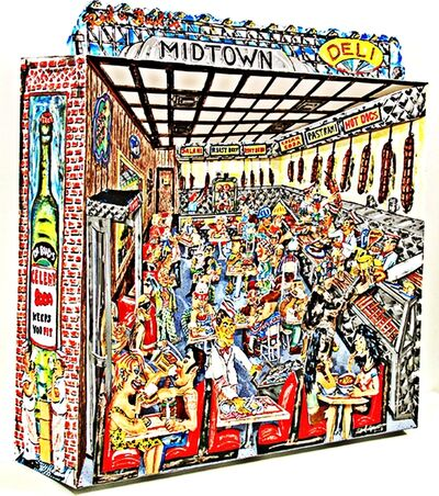 Red Grooms, 'Red and Bud's Midtown Deli', 2004