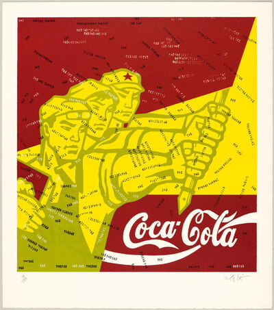 Wang Guangyi 王广义, 'Great Criticism Series: Coca Cola', 2006