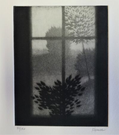 Robert Kipniss, 'Window with Dark Leaves', ca. 1980