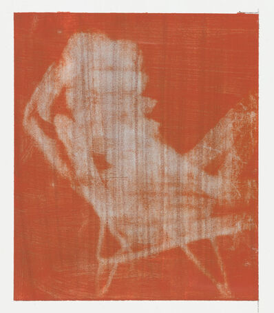 Ian Grose, 'Red and Grey (Deck Chair)', 2017