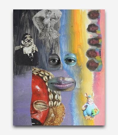Tony Oursler, 'Genetic Gray', 2014