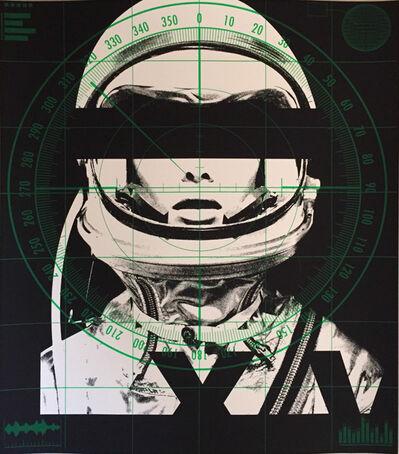 Abidiel Vicente, 'Astronaut Monochromie - Radar', 2015