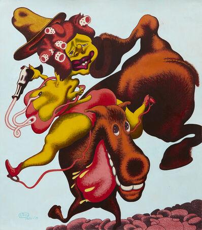 Peter Saul, 'Daisy Crockett', 1985-2015
