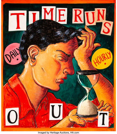Robert Chiarito, 'Time Runs Out', 1994