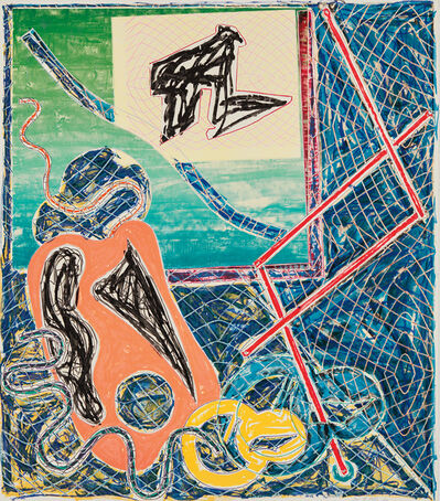 Frank Stella, 'Shards Variant Ia, from Shards', 1982