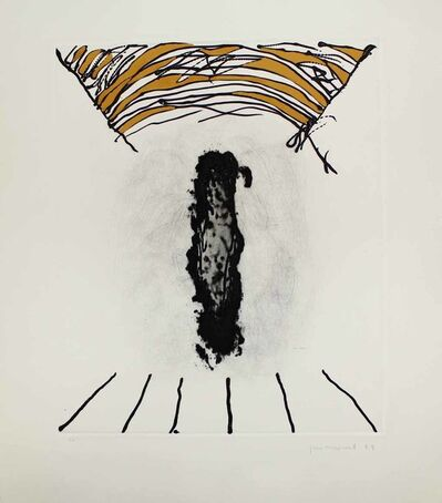 Josep Guinovart, 'La cara fosca', 1989