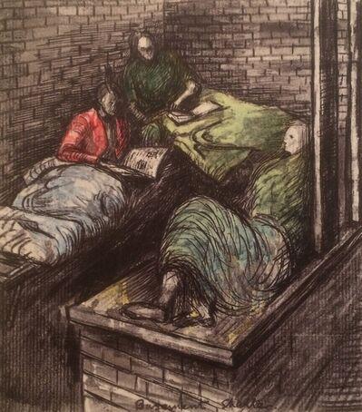 Henry Moore, 'Untitled XXXVIII (Shelter Sketchbook)', 1967