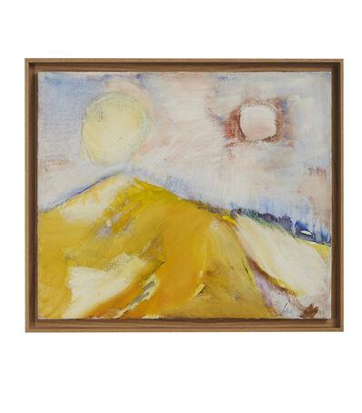Etel Adnan, 'La Montagne Liban', 1972
