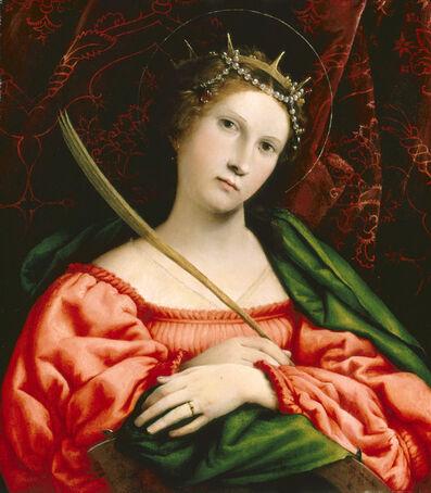 Lorenzo Lotto, 'Saint Catherine', 1522